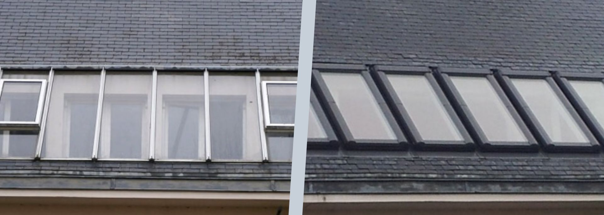 Rénovation - remplacement de fenêtres de toit